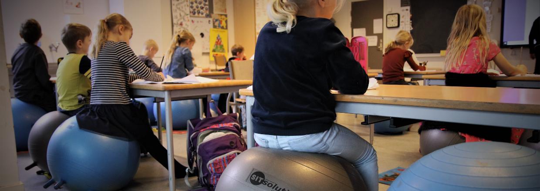 Sid aktivt i skolen
