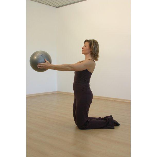 Pilatesbold grå 30 cm
